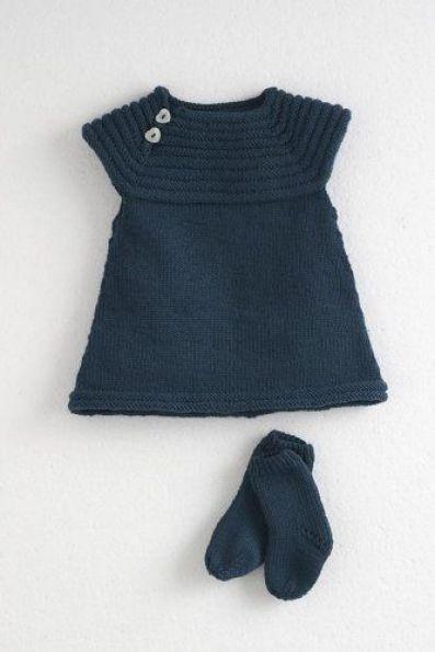 Manualidades a crochet para bebés vestido calcetines