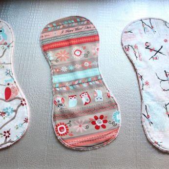 Manualidades en tela para bebés minky