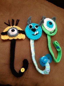 Manualidades para bebé crochet chpuete