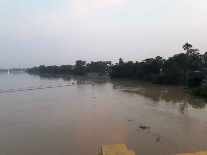 Muzaffarpur Budhi Gandak Water Level Reaches Danger Mark