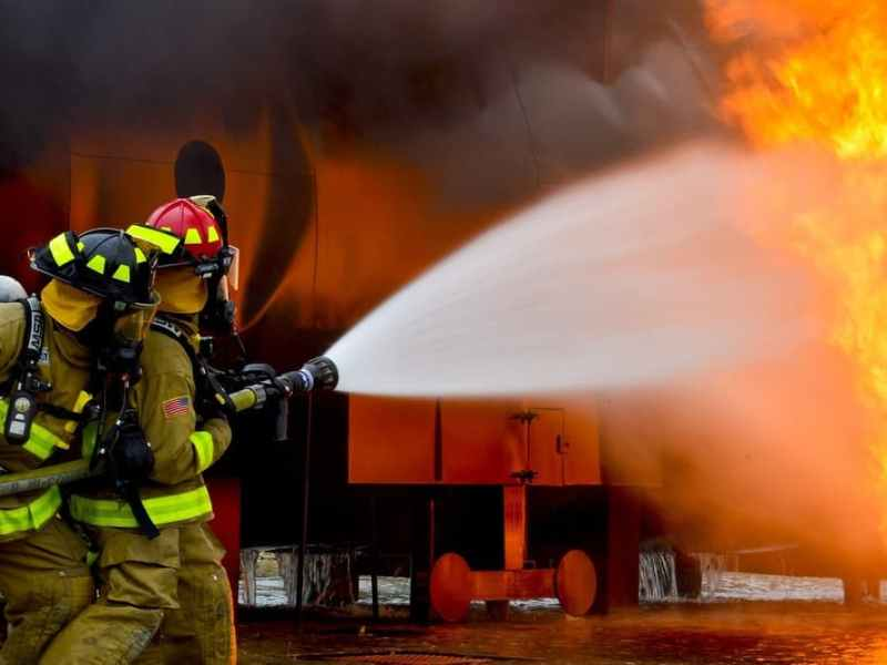 The Muzaffarpur Fire Fighting Department lacks personnel and resources