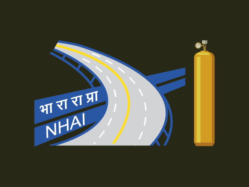 NHAI Oxygen Plants 15 Bihar Districts