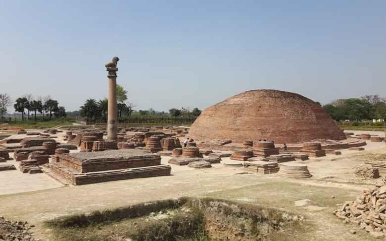 Aananda Stupa in Vaishali, Bihar