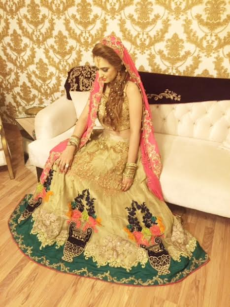 Aliha Chaudry's Wedding Pictures