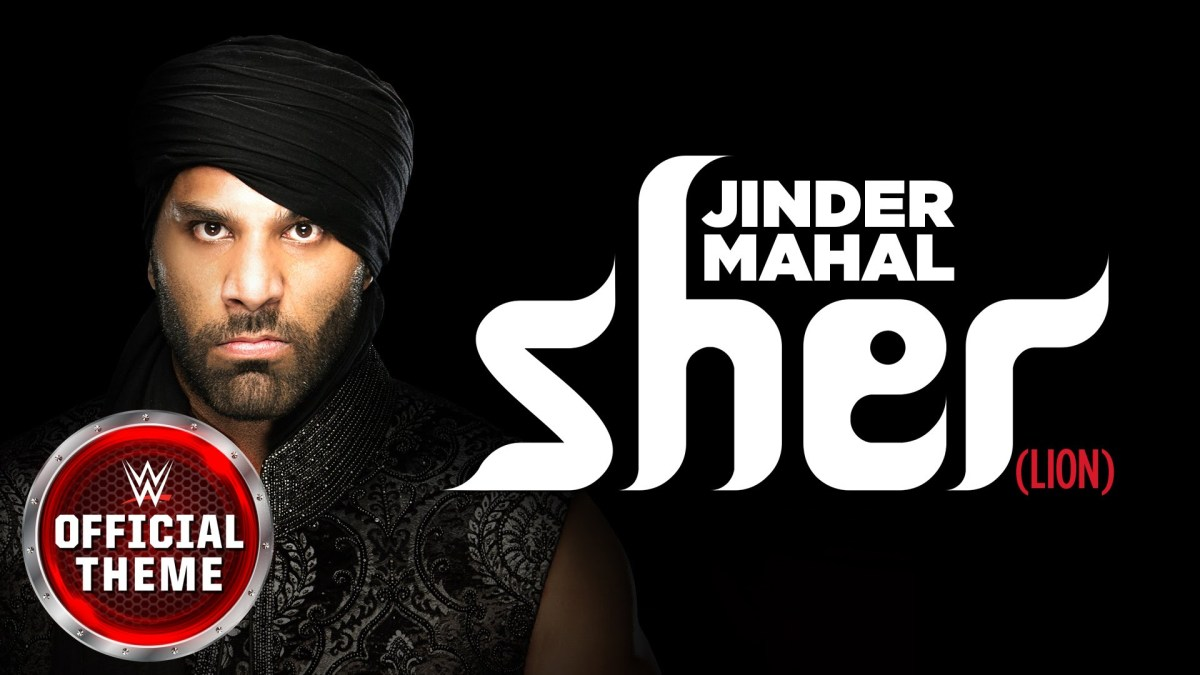 Sher by KAZ for Jinder Mahal (Music Out Now)