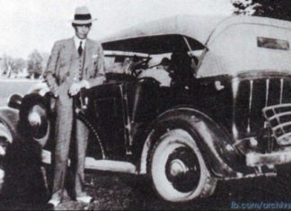 Quaid e Azam with his Car photo