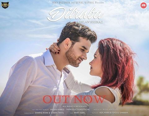 Arslan Sheraz Music Video DILRUBA is Blowing Fire Everywhere