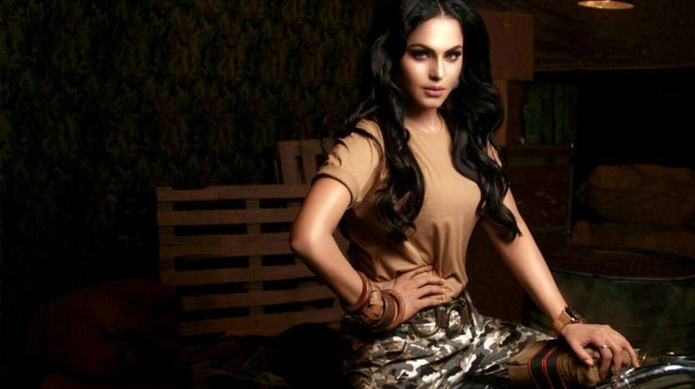 Veena Malik Bold Look For New Song
