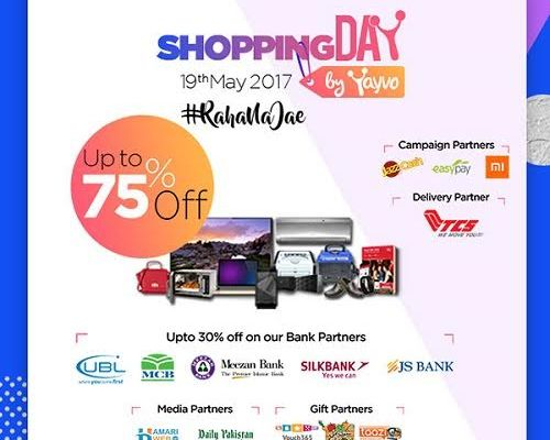 Get Ready for Pakistan's First Ever Online Shopping Day on 19th May