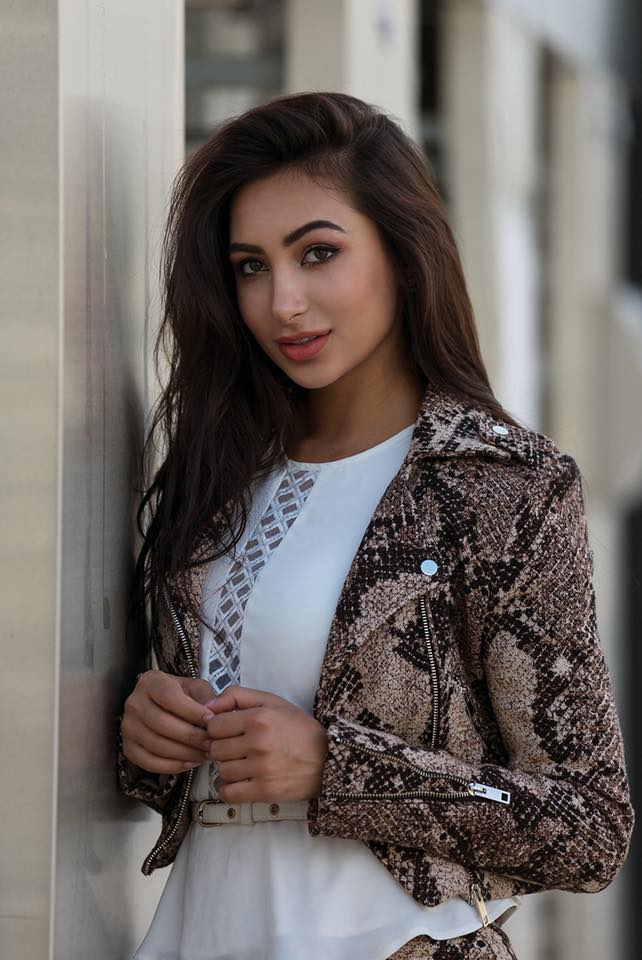 Pakistani beautiful model Anzhelika Tahir