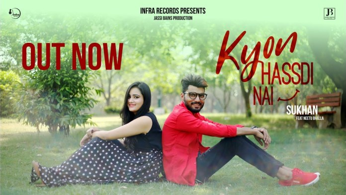 Kyon Hassdi Nai by Sukhan ft Neetu Bhalla (Music Video)