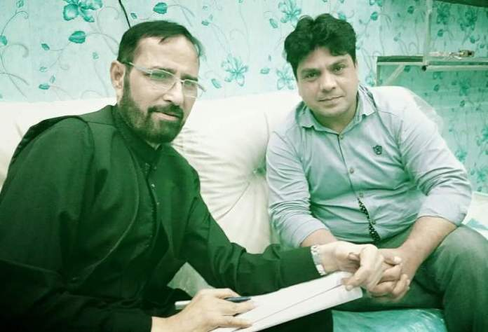 Director Nadeem Cheem With Writer M.Kamal Pasha
