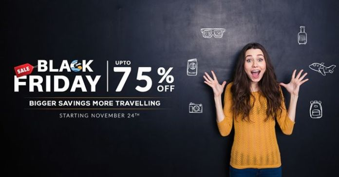 Sastaticket.pk Announces Black Friday 2017 Offering Up to 75% Discount