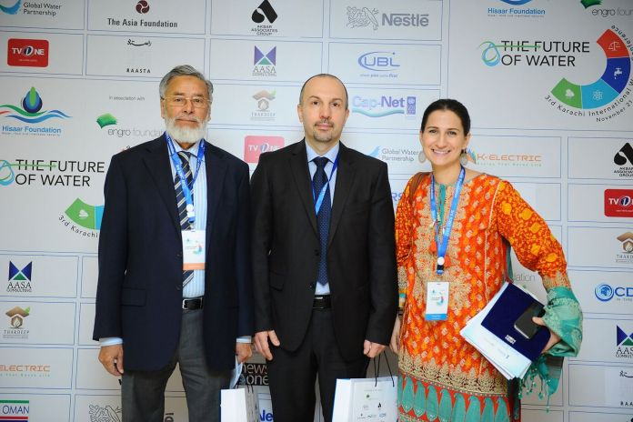 Dr. Abdul Rauf, Ferenc Keszler and Piroska Paksi