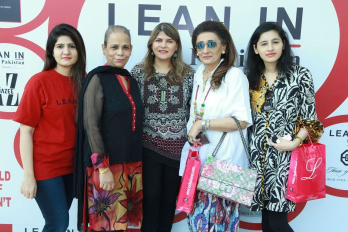 Lean In Pakistan Trade Exhibition Held at BRR Tower