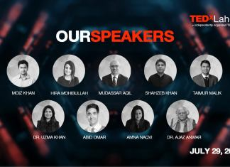 Here is the Complete List of Speaker for TEDxLahore 2018