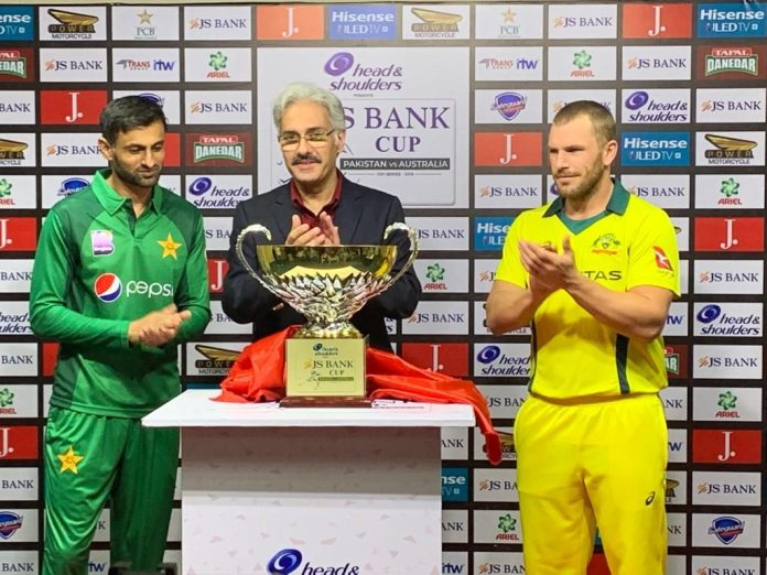 JS Bank signs on as Title Sponsor for  Pakistan-Australia ODI Series