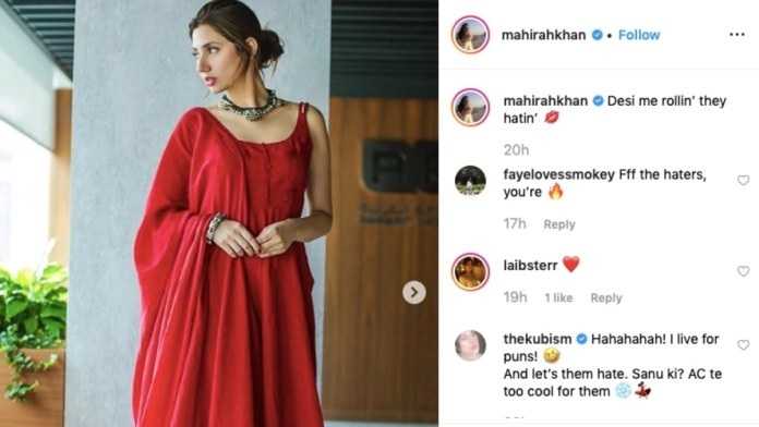 Mahira Khan masterfully shut down ageist comments
