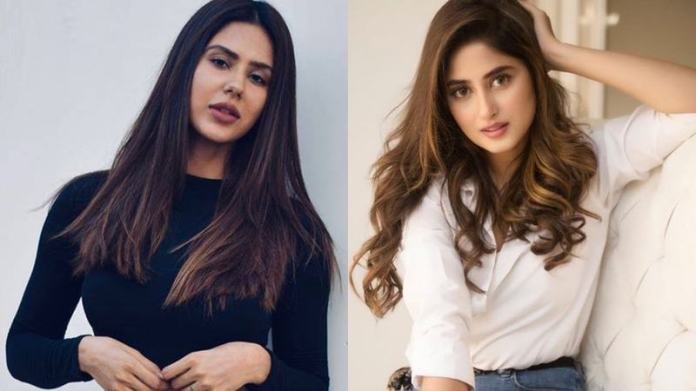 Indian model Sonam Bajwa loves Sajal Aly
