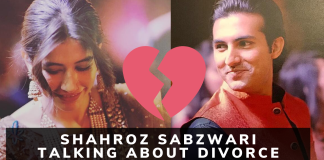 Shahroz Sabzwari revealed the Reality about their Divorce