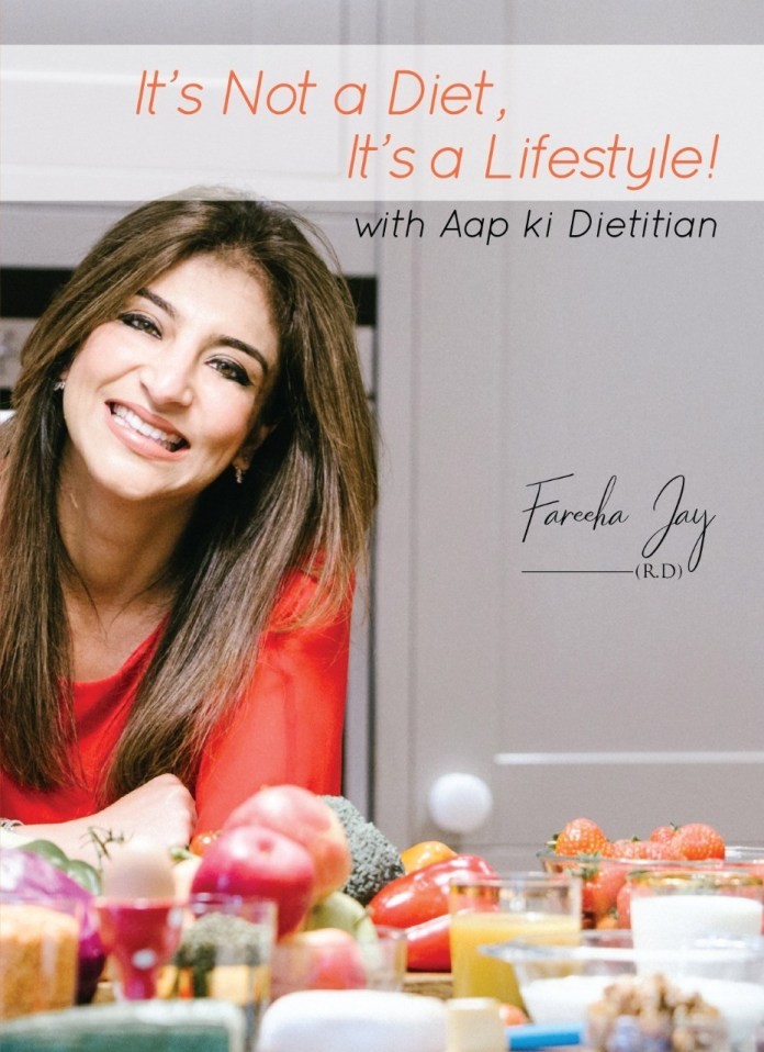 Alif Kitab Publishes Fareeha Jay's First Lifestyle Book 'It's Not a Diet, It's a Lifestyle'