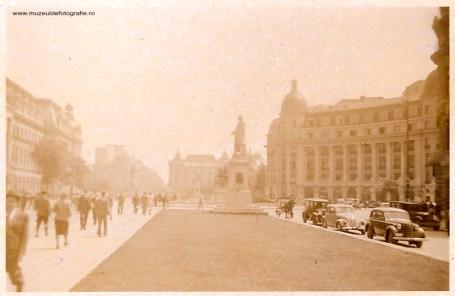 Piata Universitatii in anii 1940.