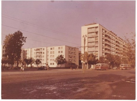 Blocuri in Bucuresti in anii '60