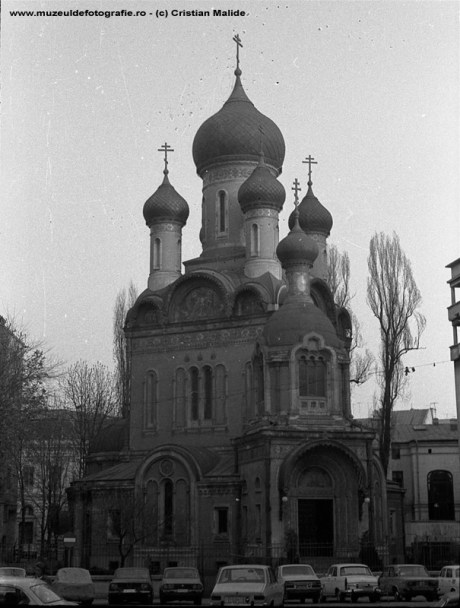 Biserica Rusa in 1985
