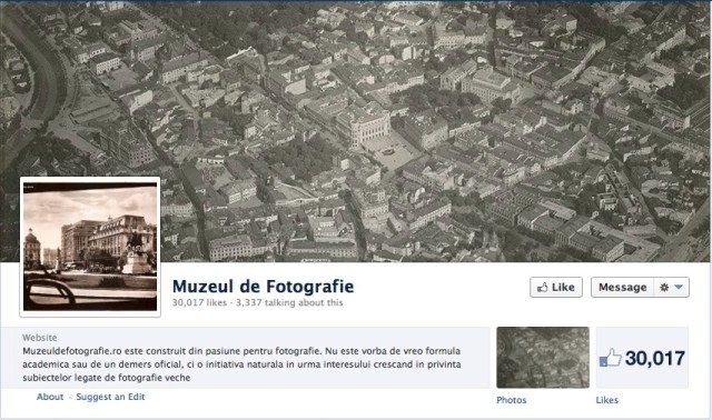 Muzeul de Fotografie on Facebook