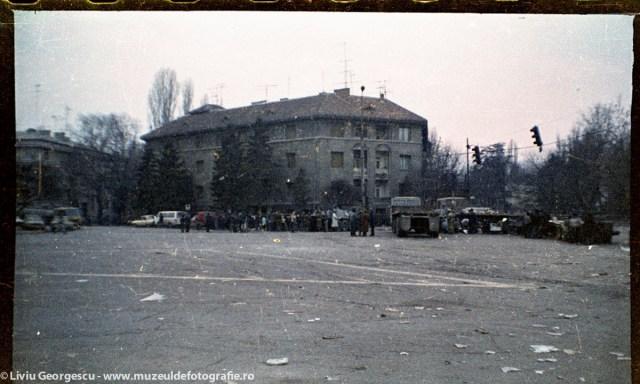 Piata Dorobantilor - 24.12.1989 - Foto:  Liviu Georgescu