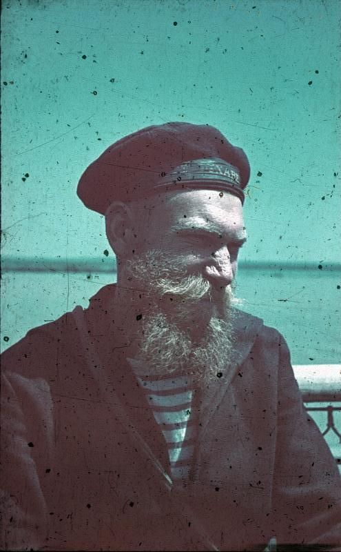 Bearded Sailor, Romania