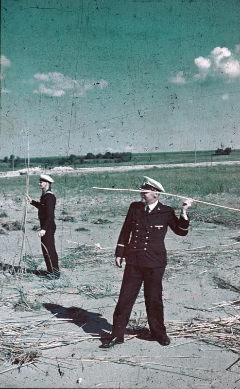 Soldier Throwing a Reed as a Spear, Romania