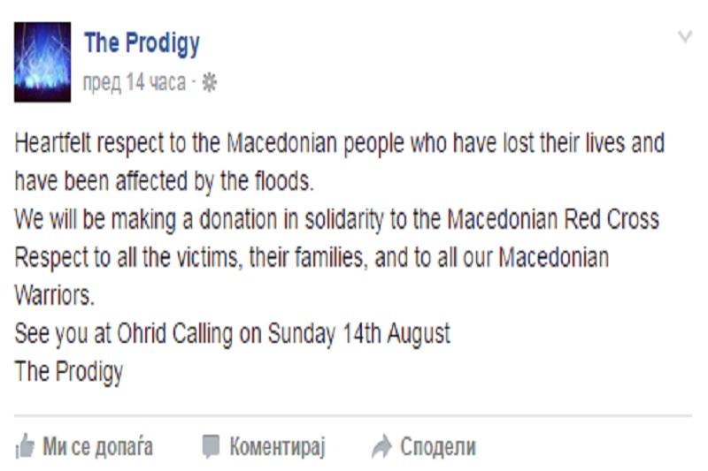 The Prodigy_FB status
