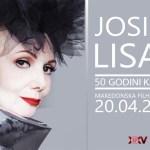 50 години кариера на Јосипа Лисац - гала концерт во новата концертна сала на МФ