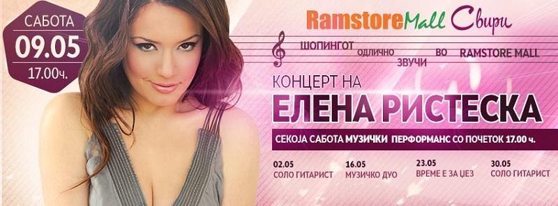 Elena Risteska_koncert ramstore mall