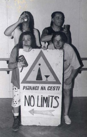 No Limits 1993 (foto: arhiv skupine)