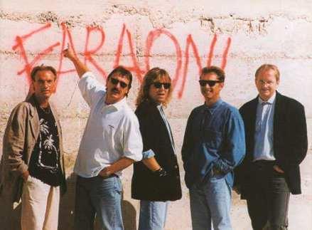 Faraoni 1996 (foto: arhiv skupine)