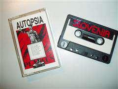Kaseta Autopsia (Založba Slovenija)