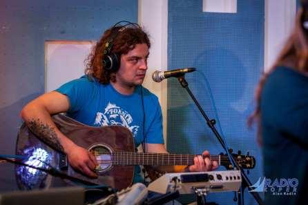Slavko Ivančič @ Radio Live (foto: Alan Radin)