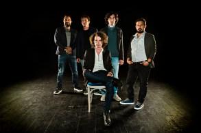 Jure Lesar in band (foto: Janez Volmajer)