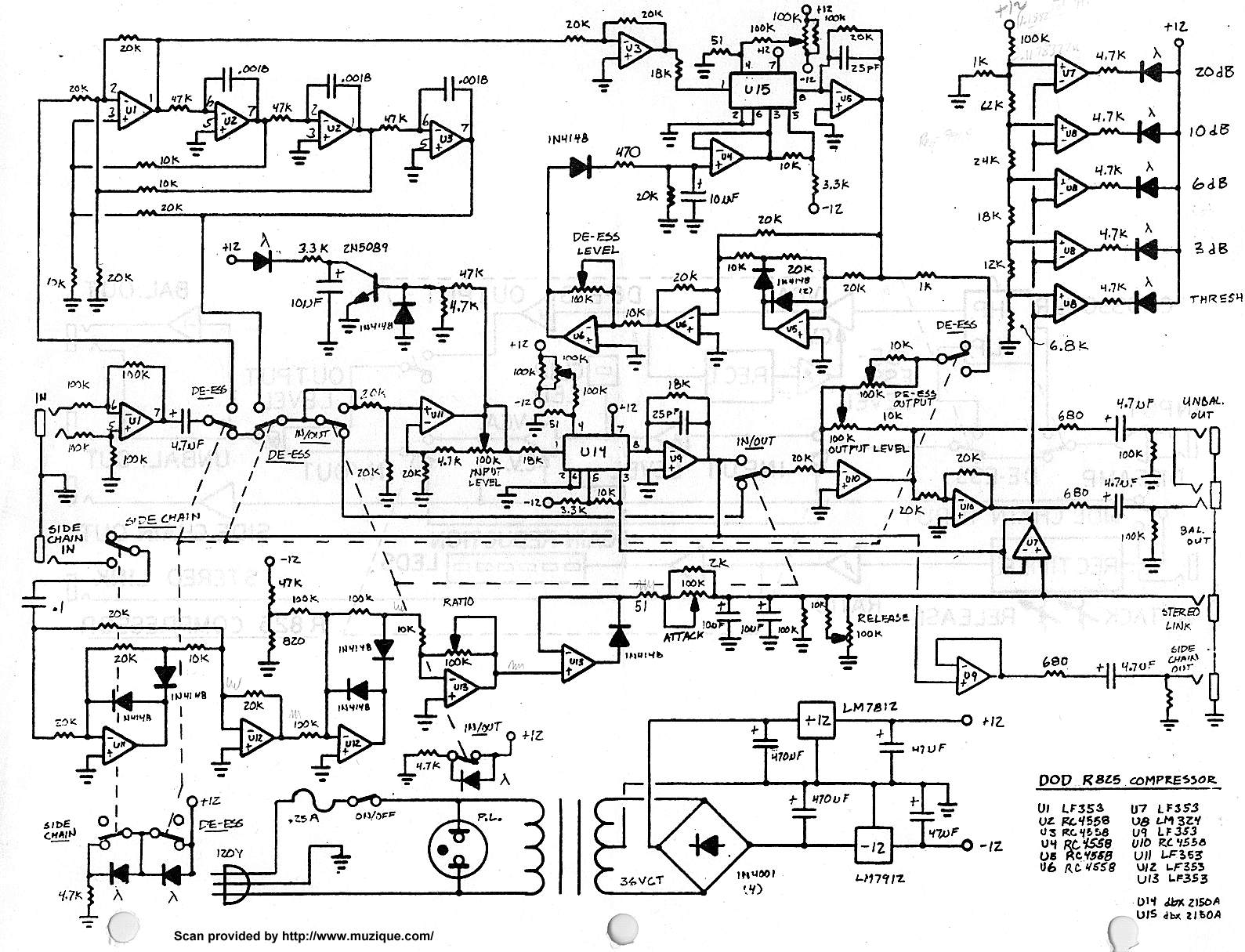 Guitar Effects Schematics Amp Projects