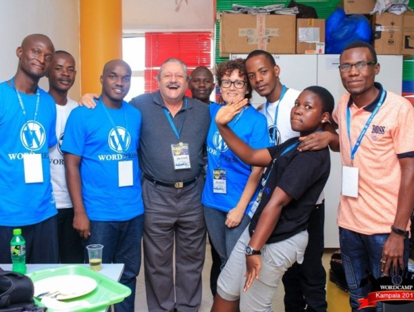 Wolfgang and I are speakers and regular attendees at the annual Wordcamp events for Kampala's blogging and WordPress website development community.