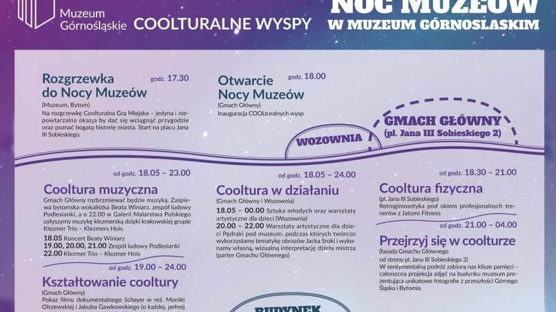 Noc Muzeów 2017 w Muzeum Górnośląskim