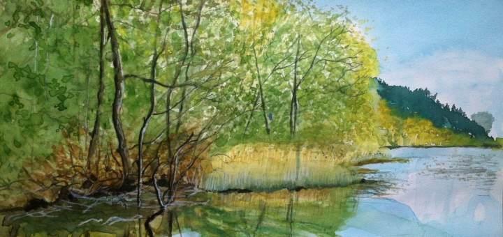 Ewa Wrożyna - Jezioro Hańcza