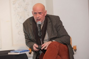 Foto - European Voices: A Reading and Conversation with Hubert Klimko-Dobrzaniecki and Julia Sherwood. At the Goethe-Institut Boston, Thursday, March 31, 2016