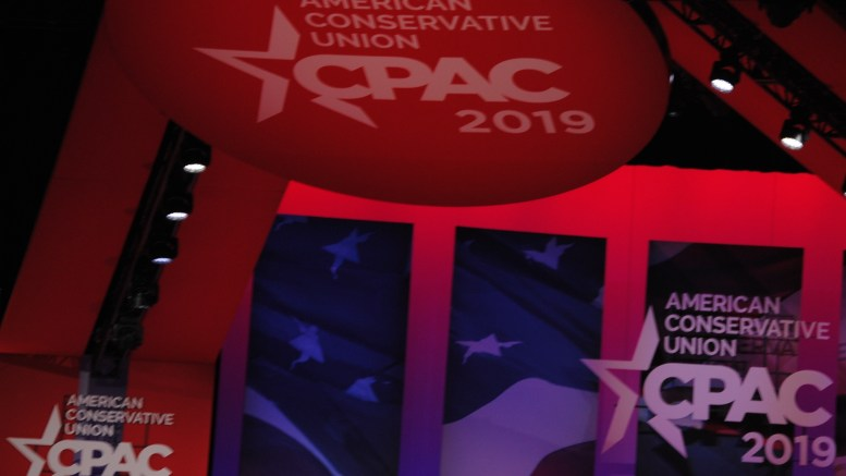 Live at CPAC 2019