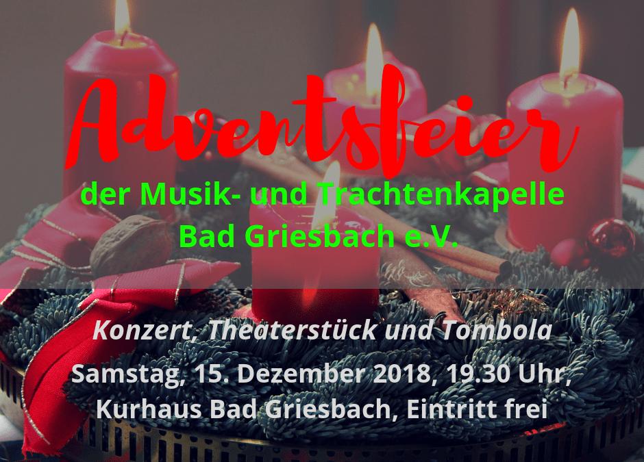 Einladung zur Adventsfeier