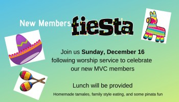 New Members Fiesta