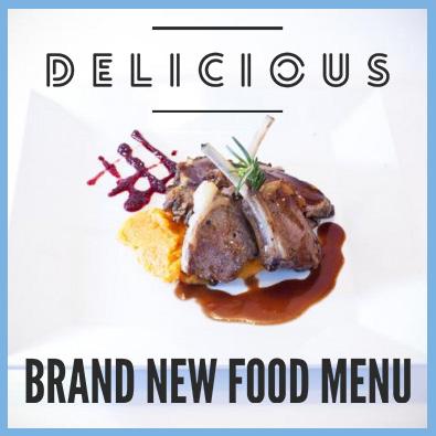 Brand new food menu for 2017