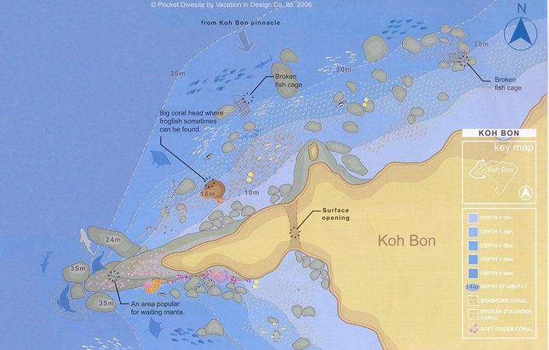 Thailand Liveaboard MV Giamani - Thailand Dive Sites - Koh Bon